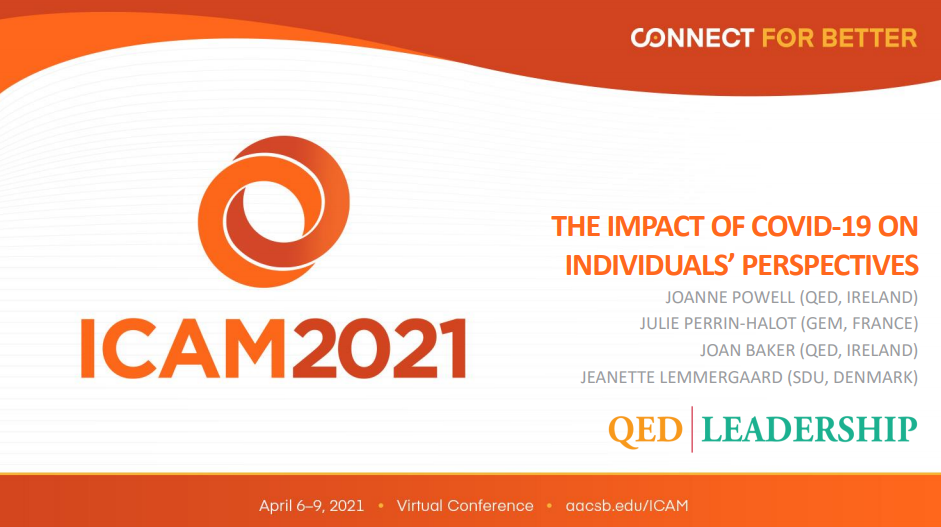 QED Cover Slide - ICAM 2020